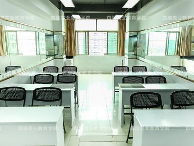 深圳首脑美容美发化妆美甲学校美甲教室